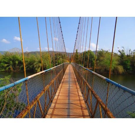 Fotomural puente colgante