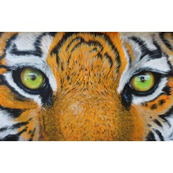 Mural vinilo tigre - vinilo decorativo fotomural tigre
