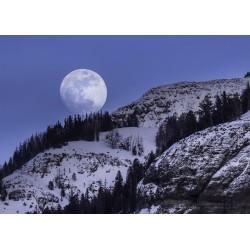 Fotomural luna llena - vinilos decorativos paisajes