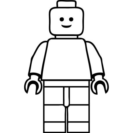 Vinilo infantil figura Lego - vinilos decorativos infantiles