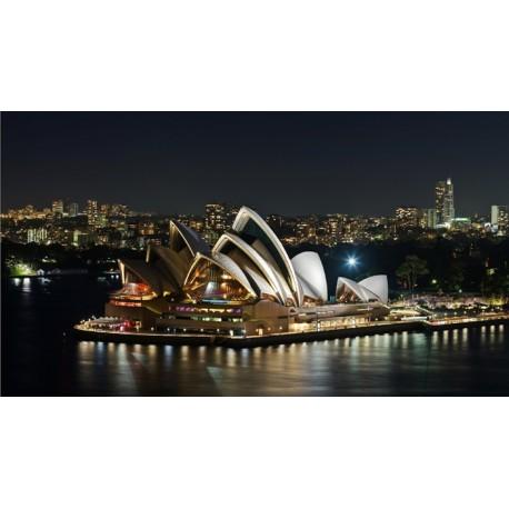 Mural Opera Sydney - vinilo decorativo