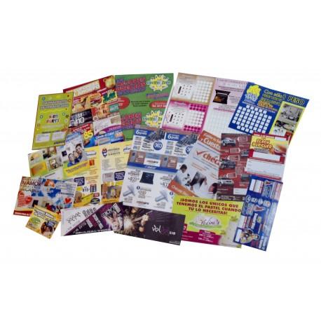 Diseño postales, flyers, folletos, propaganda, dípticos, trípticos