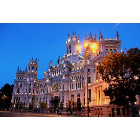 Fotomural plaza Cibeles - vinilo decorativo madrid