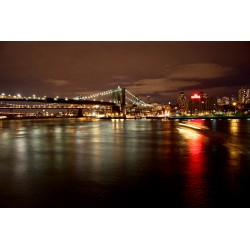 Fotomural New York noche