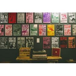 Cartelería pequeño formato, posters, cartelera cine