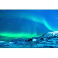Mural aurora boreal