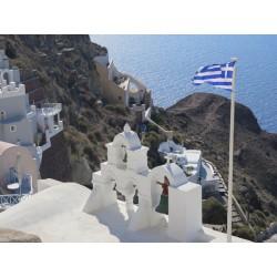 Fotomural Santorini