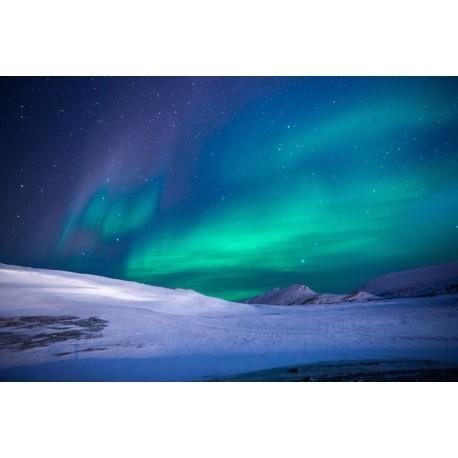 Fotomural aurora polar
