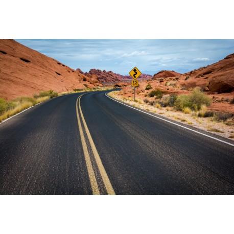 Mural carretera USA