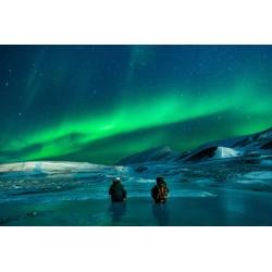 Fotomural de vinilo aurora borealis