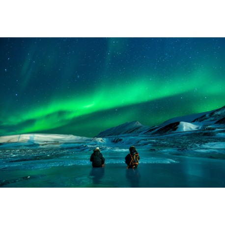 Mural aurora borealis