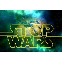 Fotomural Stop Wars