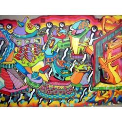 Fotomural Graffiti