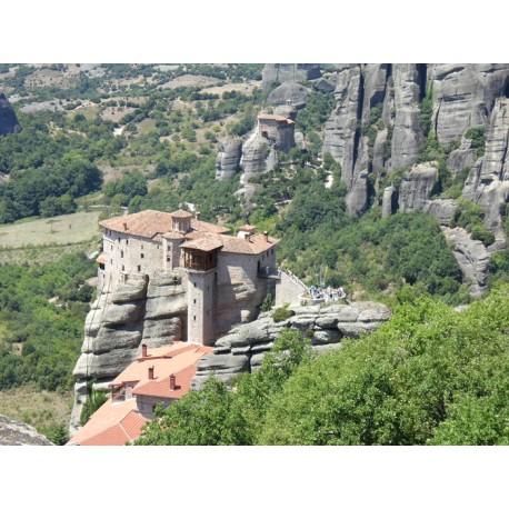 Mural monasterio Meteora