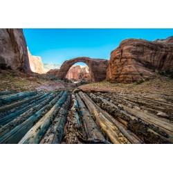 Fotomural desierto árido