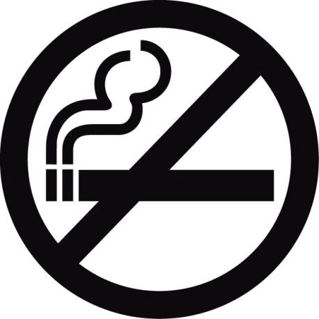 Vinilo no fumar - pegatina prohibido fumar