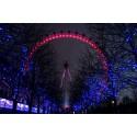 Fotomural London Eye noche