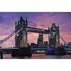 Fotomural Puente de la Torre noche