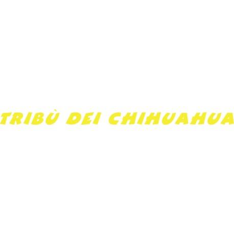 vinilo Tribù del Chihuahua amarilla