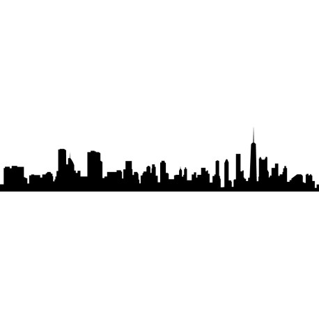 Vinilo skyline Chicago