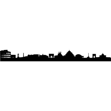 Vinilo skyline Roma