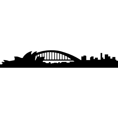 Vinilo skyline Sydney