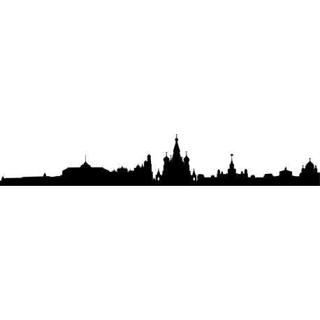 Vinilos skyline Moscú