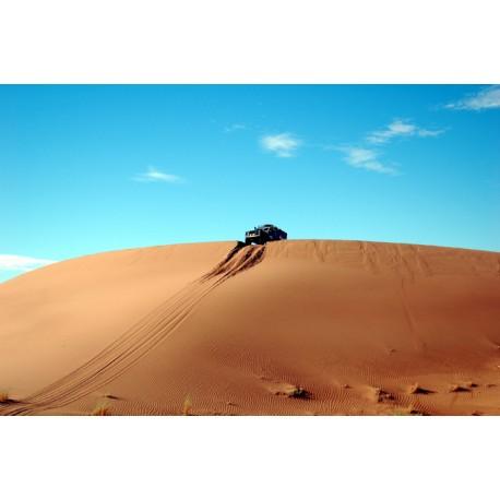 Vinilo fotomural aventura desierto