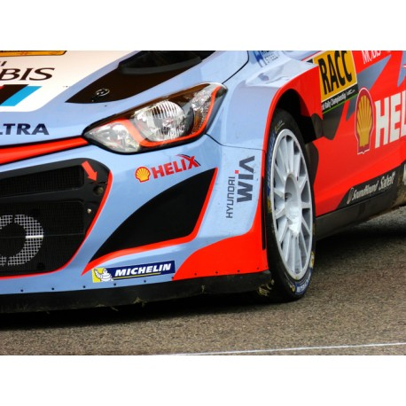 Mural de vinilo Hyundai WRC