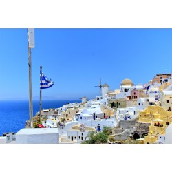 Fotomural isla griega