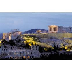Fotomural Acropolis noche