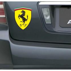 Pegatina escudo Ferrari