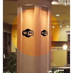 vinilo logo wifi
