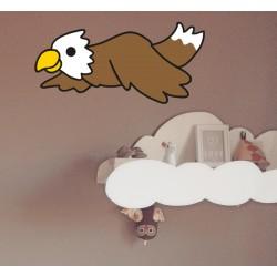 Vinilo infantil águila
