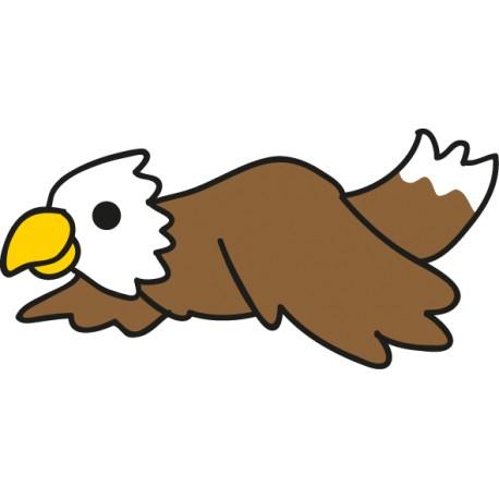 adhesivo animal águila