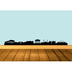 Vinilos decorativos skyline Atenas