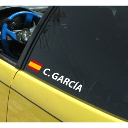 Pegatina nombre España