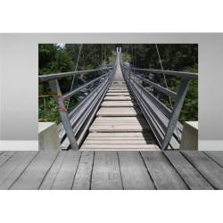 vinilo decorativo puente suspendido