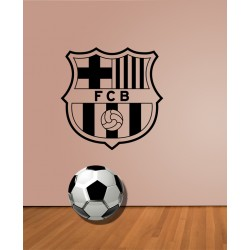 Vinilo escudo fútbol club Barcelona