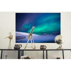 Fotomural auroras polares