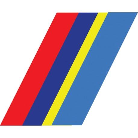vinilo bandera Peugeot sport