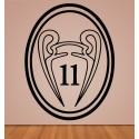 Vinilo undécima Real Madrid