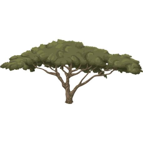 Vinilo árbol frondoso