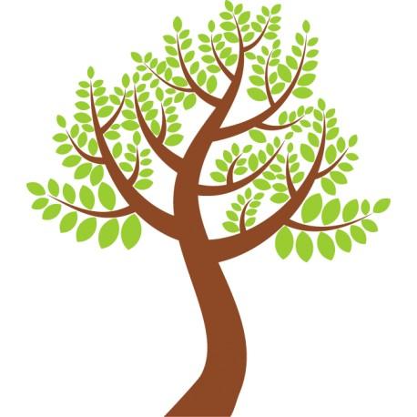 Vinilo decorativo pared árbol