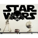 Vinilo Star Wars cara Darth Vader