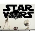 Vinilo Star Wars cara Darth Vader