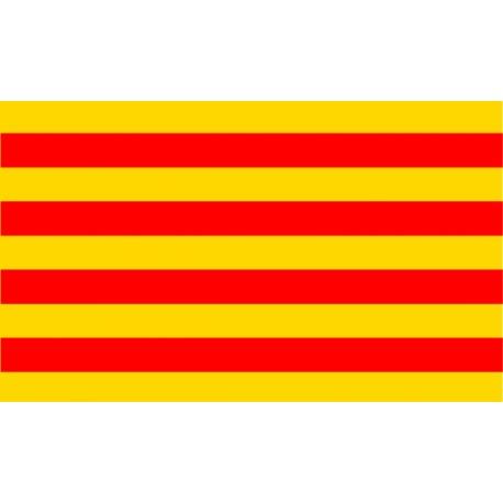 Vinilo bandera Cataluña