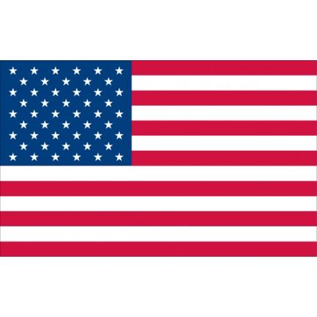 Vinilo bandera Estados Unidos de América