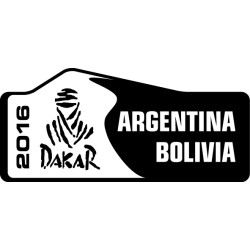 Adhesivo Dakar 2016