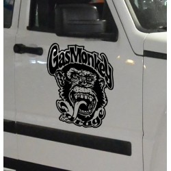 Adhesivo Gas Monkey Garage
